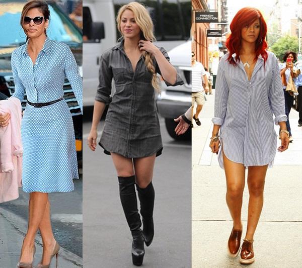 SHIRT-DRESS-CELEBRITIES