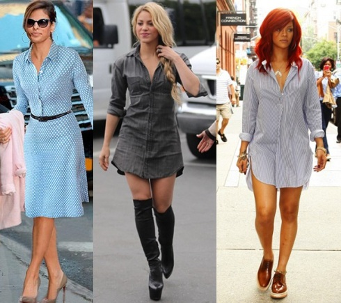 SHIRT-DRESS-CELEBRITIES