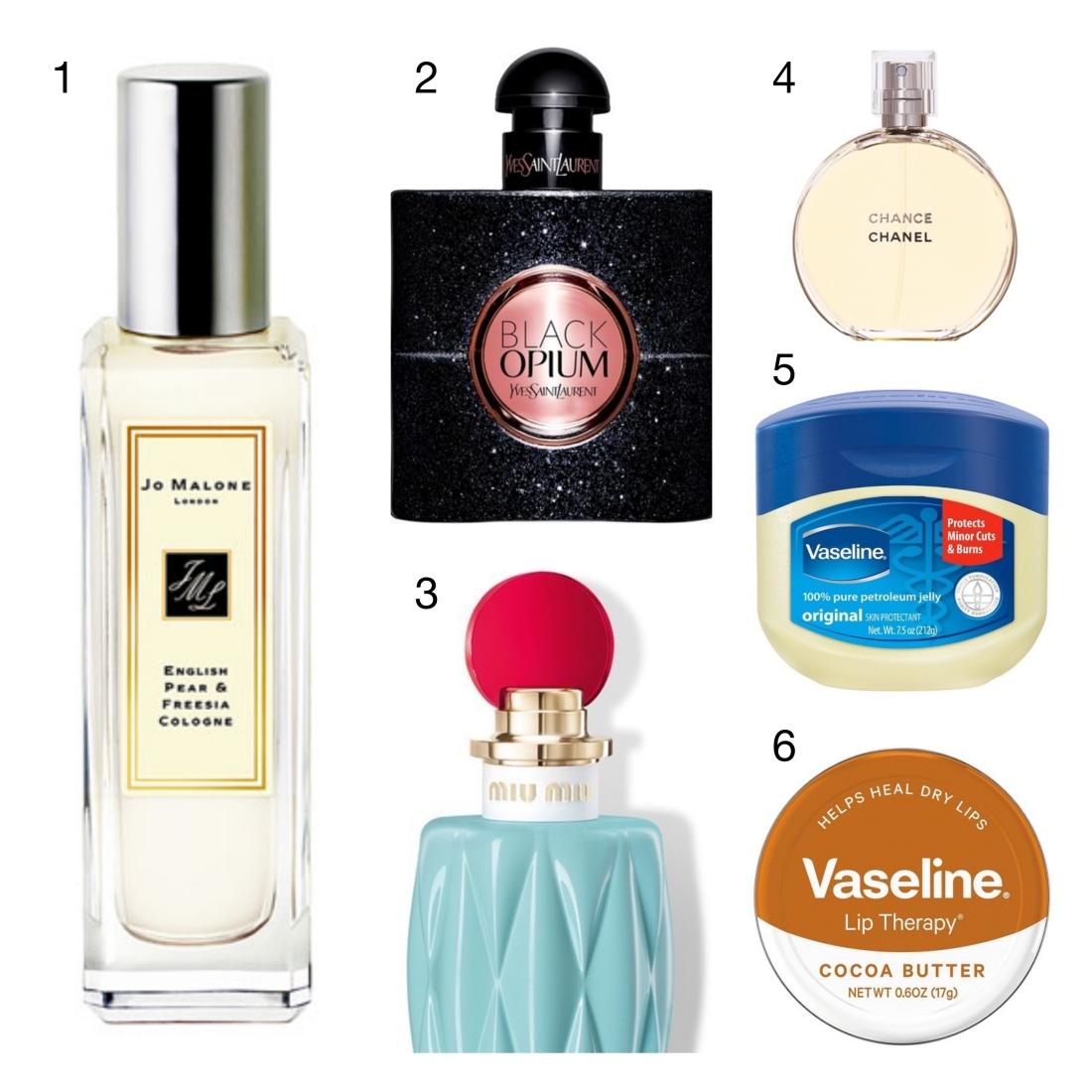 Vaseline and Perfume