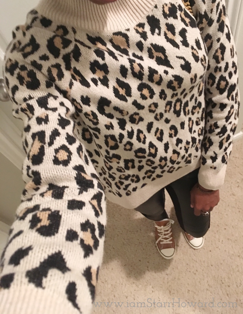 leopard-leather